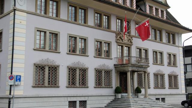 Das Regieungsgebäude in Schwyz.