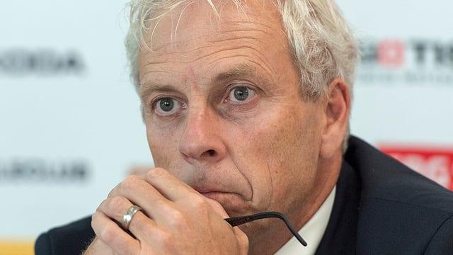 Ueli Schwarz in einer Porträtaufnahme.