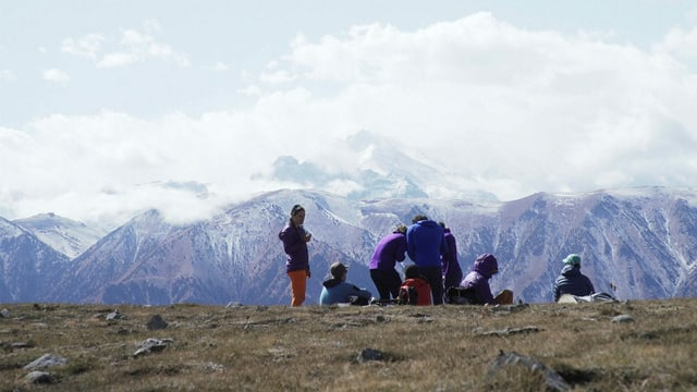 Trek ins Basecamp: Die ersehnten Gipfel kommen näher.