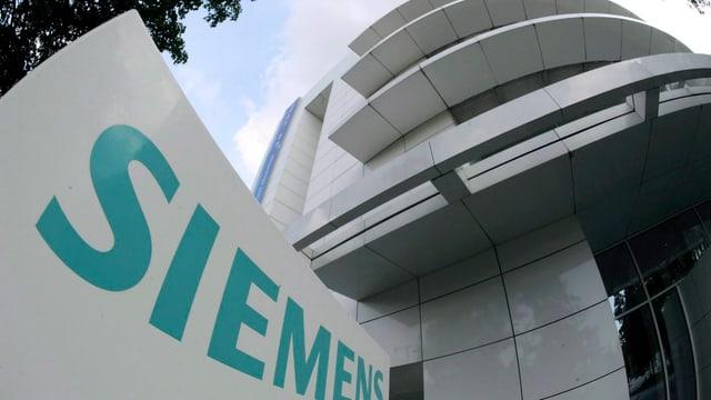 Siemens-Hauptsitz in München.