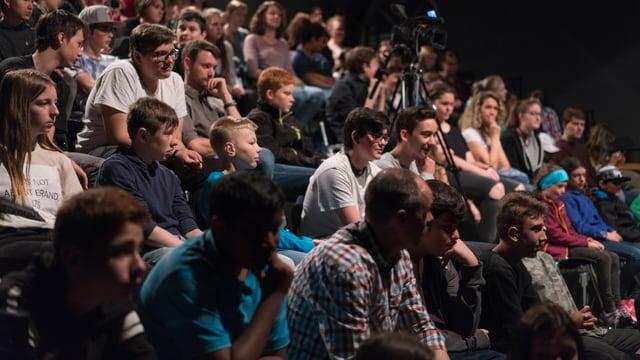 Blick ins jugendliche Publikum.