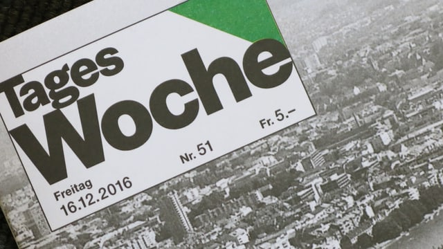 Tageswoche-Titel, Ausgabe vom 16.12.2016