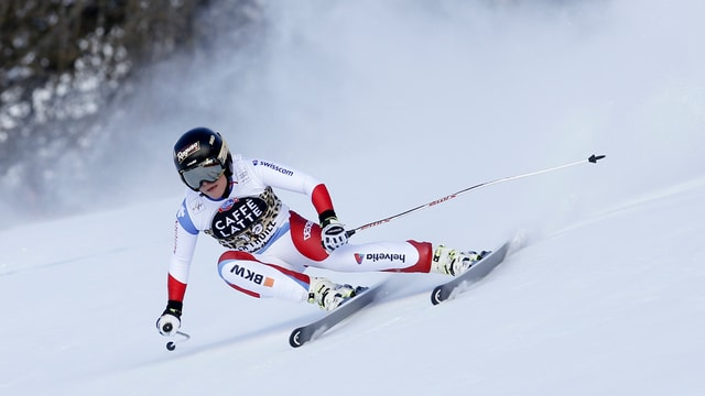 La skiunza svizra Lara Gut.