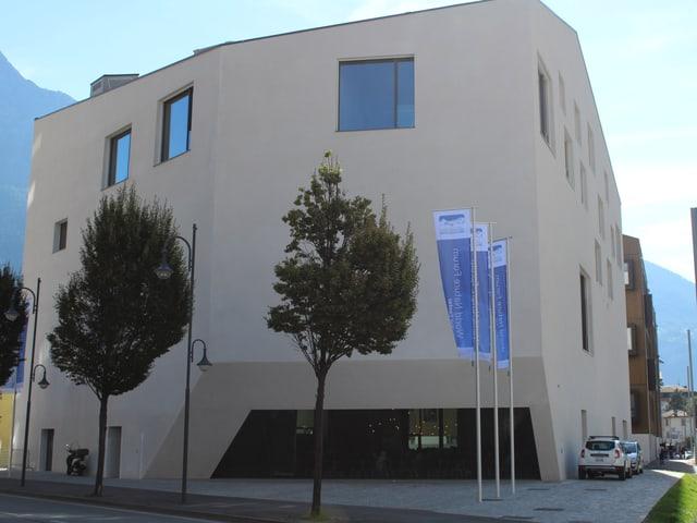 Das neue Besucherzentrum von Aussen.