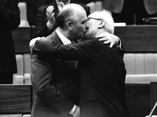Gorbatschow und Honecker