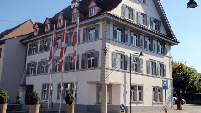 Das Gebäude der Sissacher Gemeindeverwaltung