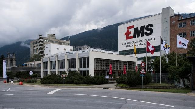 Vista sin la sedia da la EMS holding SA.