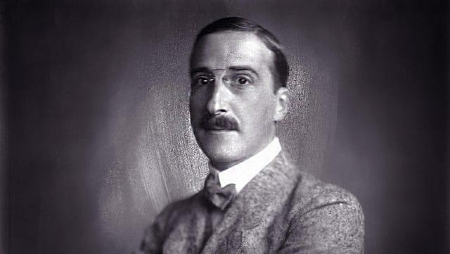 Porträt von Stefan Zweig