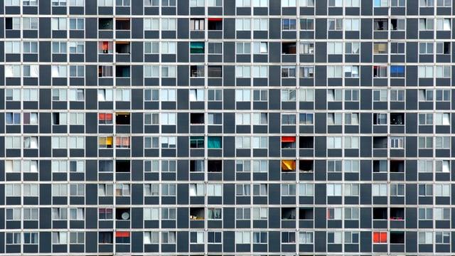 Eine riesige Wohnsiedlung in Lausanne.