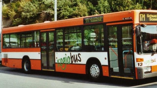 Bus der regiobus Gossau