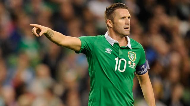 Robbie Keane in Aktion.