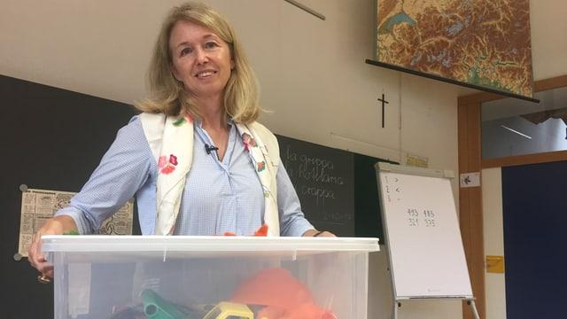 Sibylle Wietlisbach, l'inventadra da «Wunderfitz und Redeblitz»