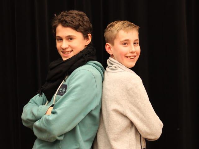 Finn und Josjua