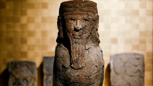Antike syrische Statue