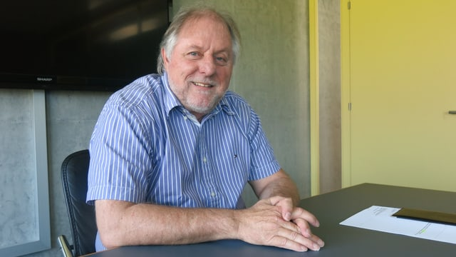 Sisag-Mitgründer Erich Megert.