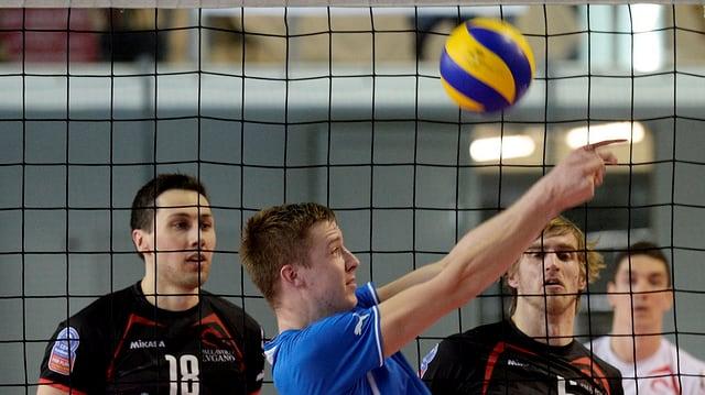 Volleyball-Szene