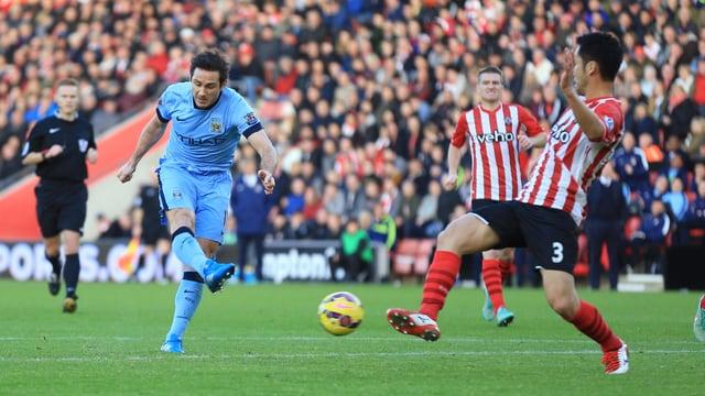 Frank Lampard schoss das vorentscheidende 2:0.