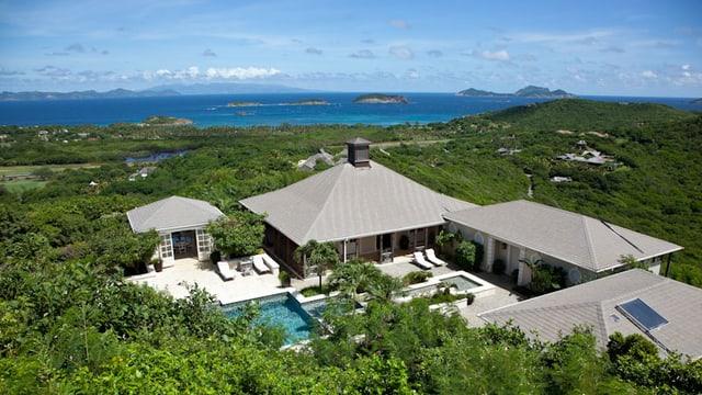 Villa Aurora auf der Karibik-Insel Mustique