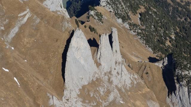 Alpstein fotografiert vom Fähnligipfel