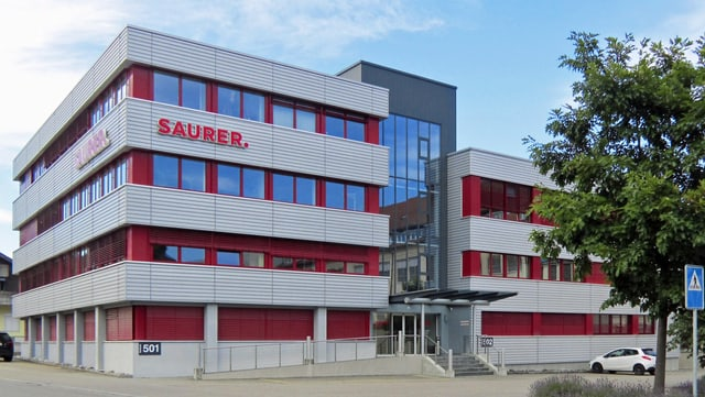 Hauptsitz von Saurer in Wattwil