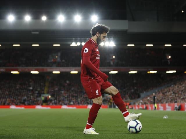 Die Augen in Barcelona werden auch auf Liverpools Mo Salah gerichtet sein.