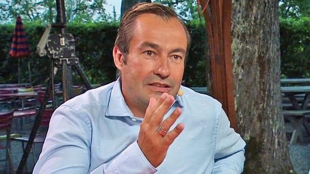 Der Urner Nationalratskandidat Matthias Steinegger.