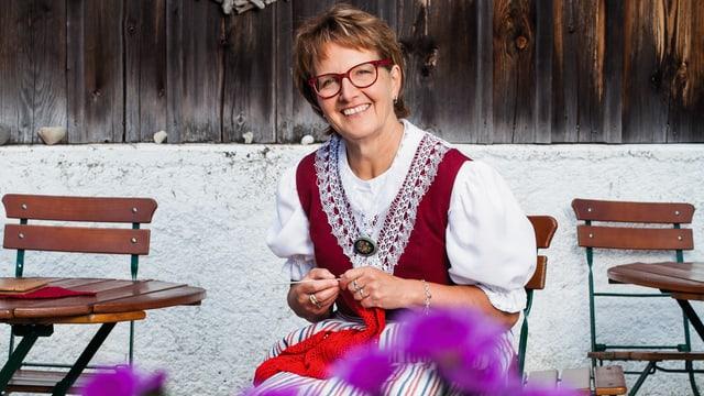 Video ««SRF bi de Lüt – Landfrauenküche»: Ruth Breitenmoser, Mosnang SG» abspielen