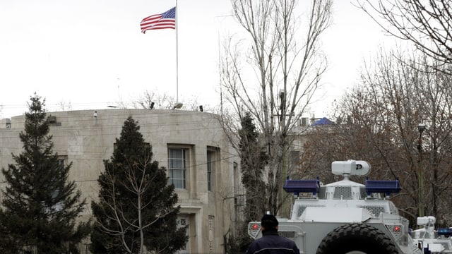 Ambassada americana ad Ankara.