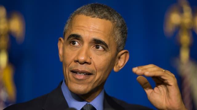 Il president american Barack Obama