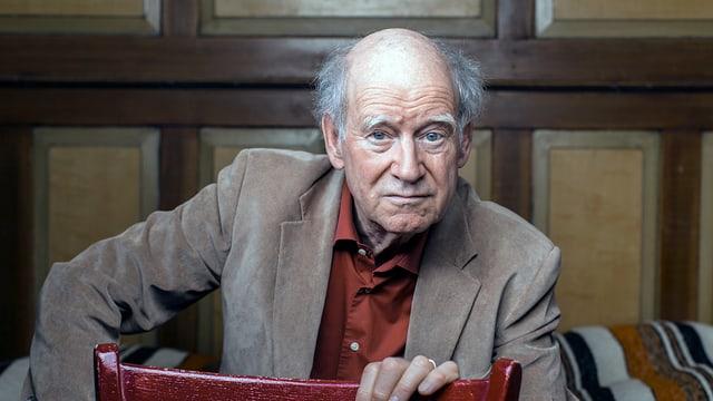 Autor und Kabarettist Franz Hohler