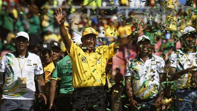 Präsident Ramaphosa
