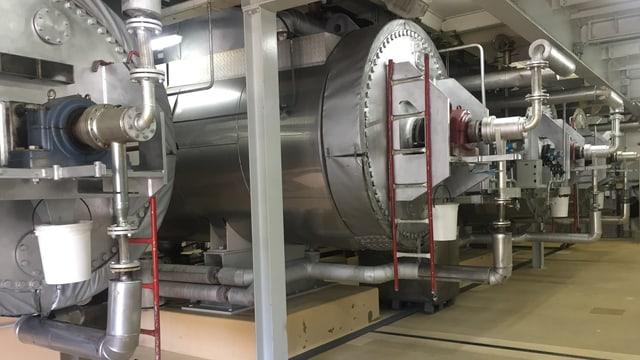 Sterilisierungsanlage der GZM Extraktionswerk AG