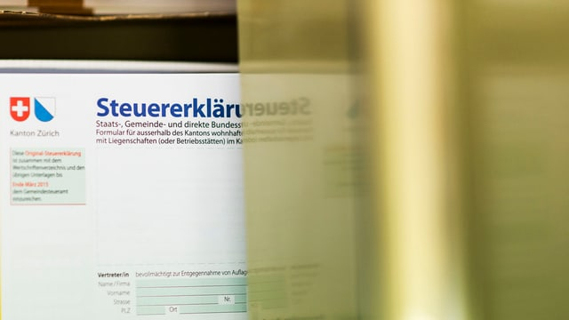 Steuererklärung Zürich