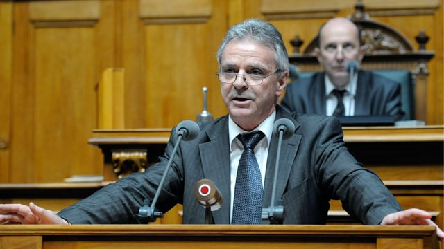 Hans Killer, SVP-Nationalrat und Vorsitzender der Energiekommission des Nationalrats (Urek)