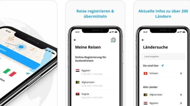 Vorstellung einiger Funktionen der App.