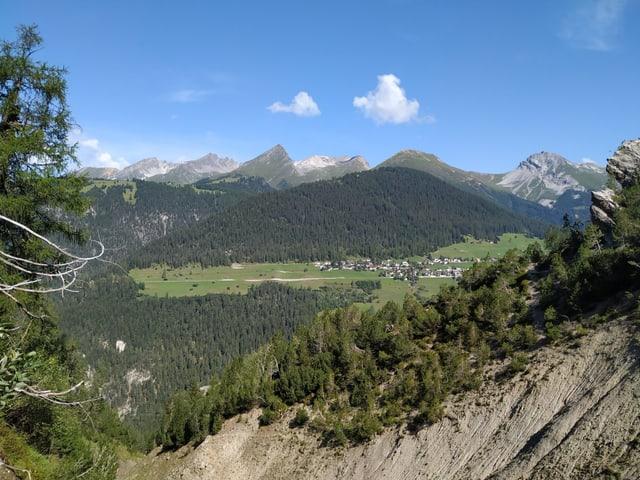 Eine der grössten Walserfraktionen ist die Landschaft Davos