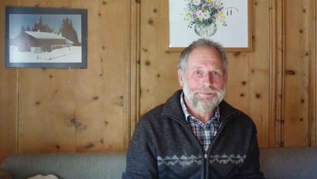 Wolfgang Schutz, il president da la vischnanca burgaisa da Filisur.