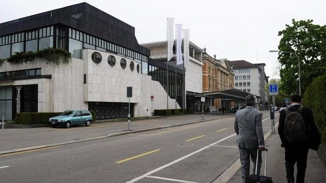 Kongresshaus in Zürich.