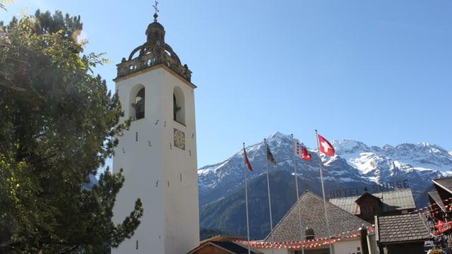Video «Römisch-katholischer Gottesdienst aus Champéry, Wallis» abspielen