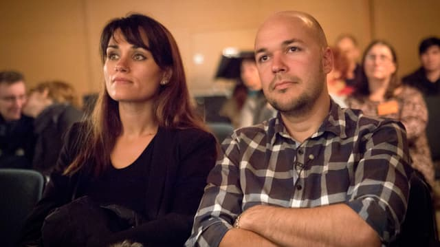 Ein Porträt von Julie und Fabien Canovas.