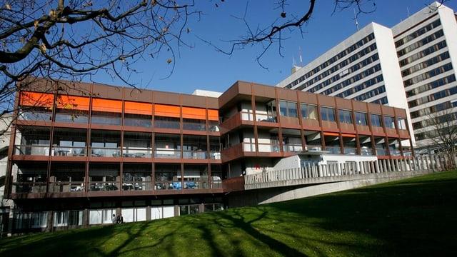 Die Gebäude des Kantonsspital Baselland