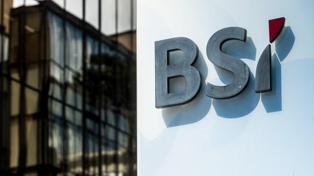 Logo da la banca tessinaisa BSI