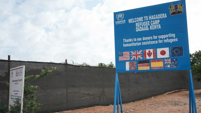 Tfel des UNO-Flüchtlingshilfswerks UNHCR.