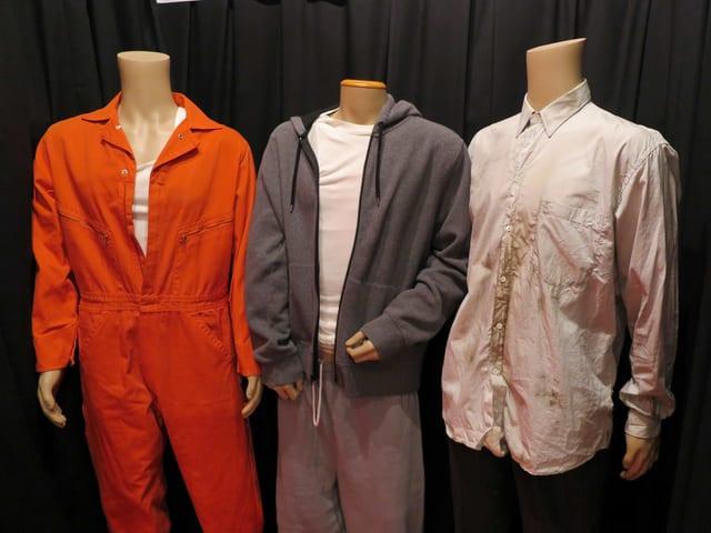 Kleider im Museum