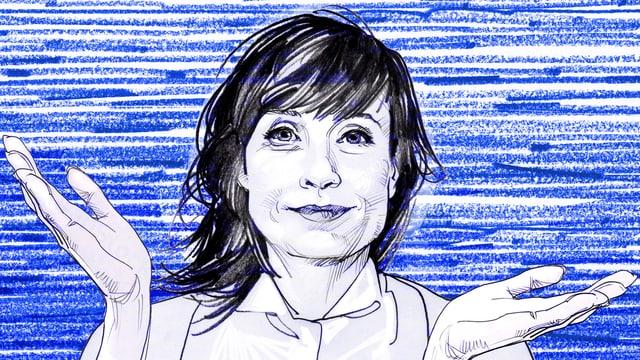 Zeichnung von Hess.