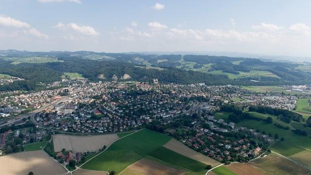 Blick auf Burgdorf
