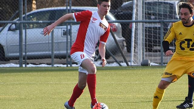 Hannes Hunziker, einer der Leistungsträger beim FC Solothurn.