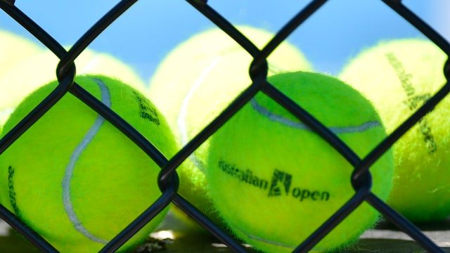 Die Bälle der Australian Open.