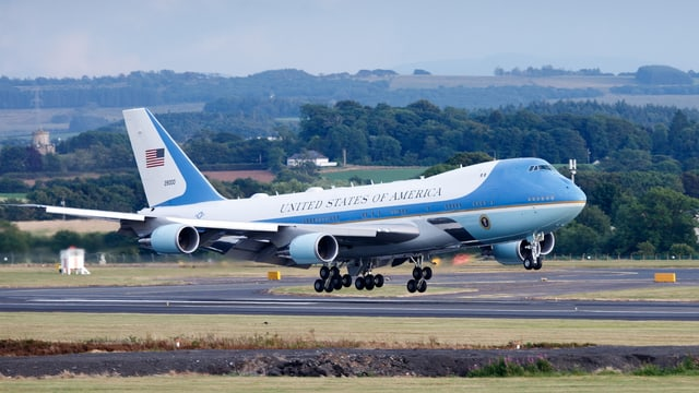 Flugzeug Air Force One