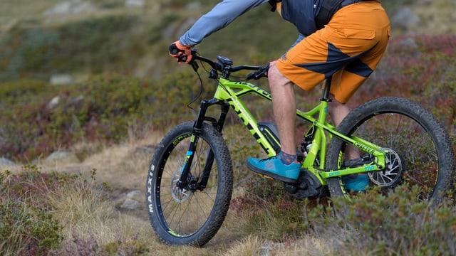Mountainbike electric.